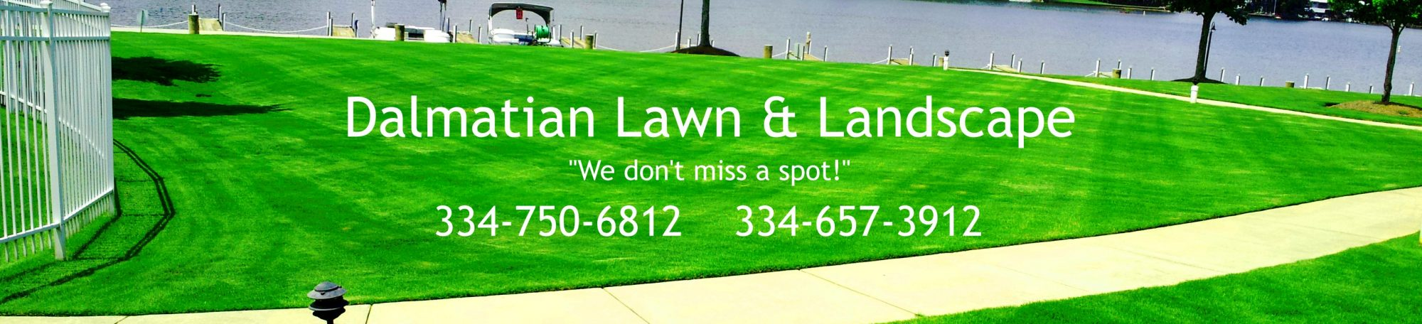 Dalmatian Lawn & Landscape. Serving Auburn and Opelika since 2010!